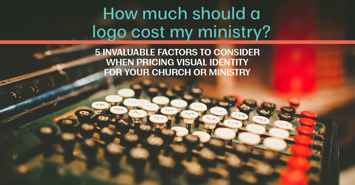 How much should a logo cost for my ministry? cash register image